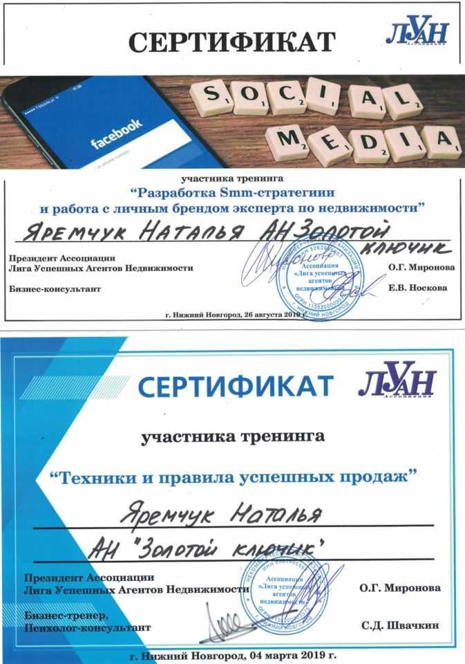 Яремчук Наталья Николаевна