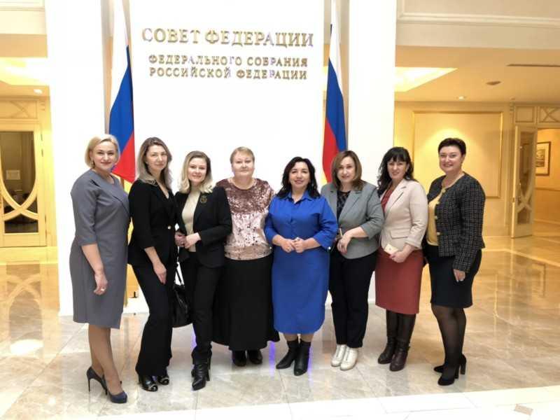 Ольга Миронова  награждена  в  Совете Федерации