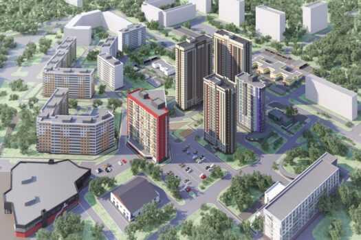 Трехкомнатные квартиры появятся во втором доме  ЖК «Огни Автозавода»
