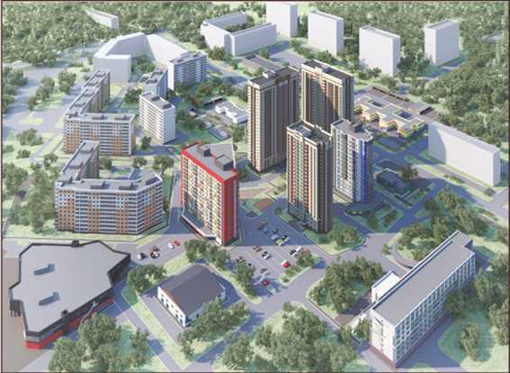 Самое недорогое жилье строится в Автозаводском районе