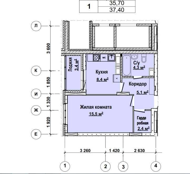 1 этаж. Стоимость 3216400 руб.