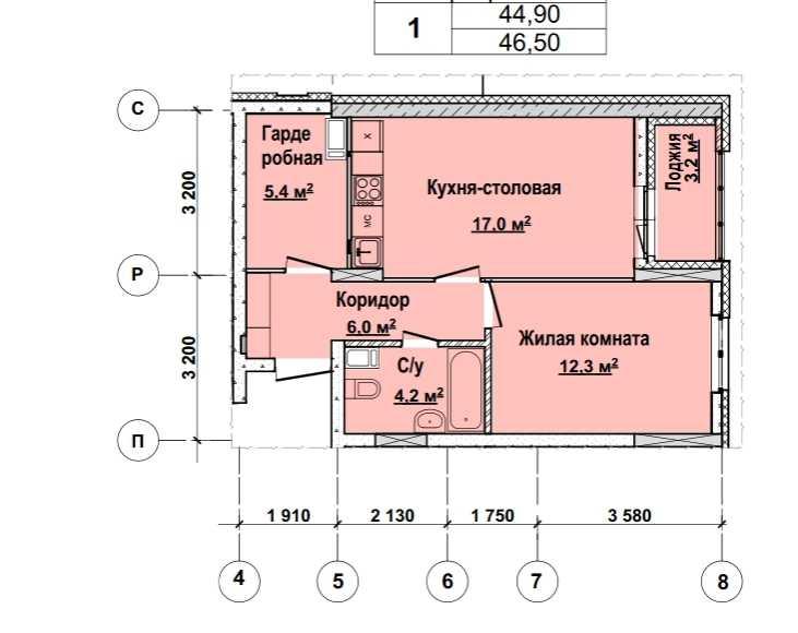 Со 2 по 12 этаж. Стоимость 3999 000 р.