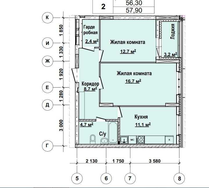 1 этаж. Стоимость 4 863600 руб.