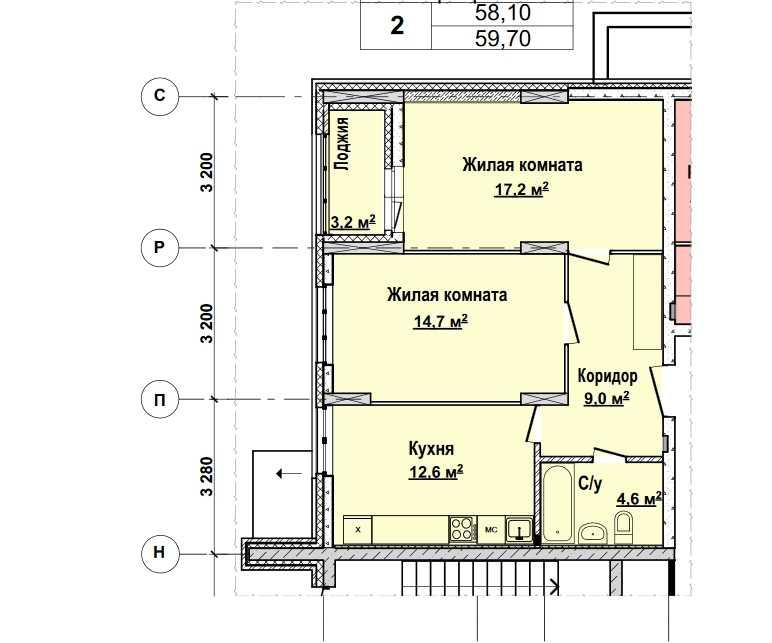 1 этаж. Стоимость 5 014800 руб.