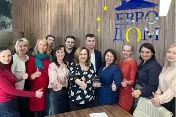 Kлуб директоров «ЛУАН» побывал в гостях у «Евродома»